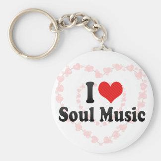 Amo música del alma llavero personalizado
