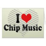 Amo música del microprocesador tarjeta