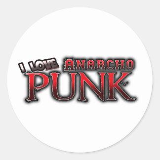 Amo música del PUNK de Anarcho Pegatina Redonda