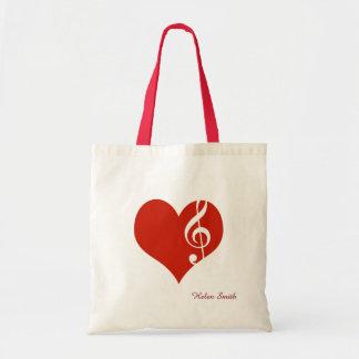 amo música/el corazón rojo