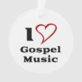 Amo música gospel
