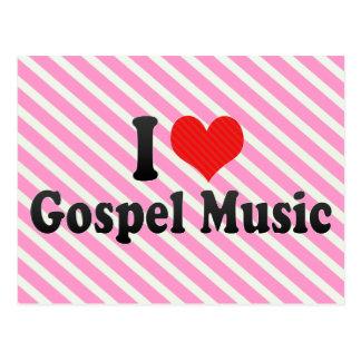 Amo música gospel postal