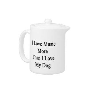 Amo música más que amor de I mi perro