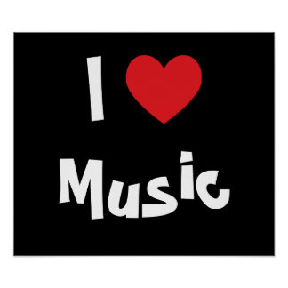 Amo música poster