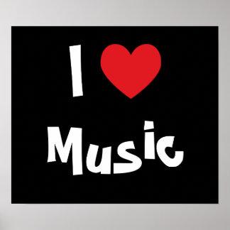 Amo música póster