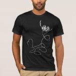 Amo música solamente para la camiseta negra (T16)