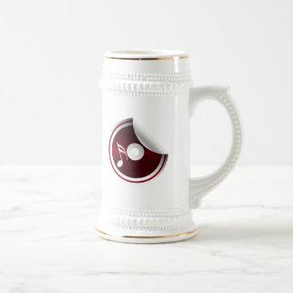 Amo música taza de café