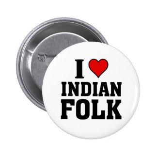 Amo música tradicional india pins