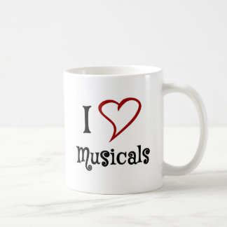 Amo Musicals Taza Clásica