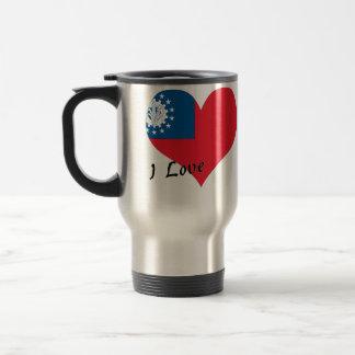 Amo Myanmar Tazas De Café