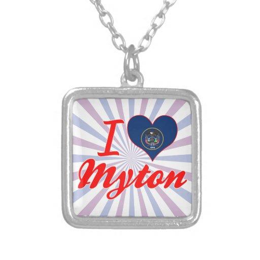 Amo Myton, Utah Colgante Cuadrado