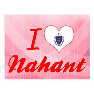 Amo Nahant, Massachusetts Tarjetas Postales