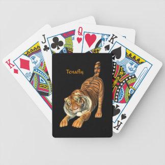 Amo naipes de los tigres barajas