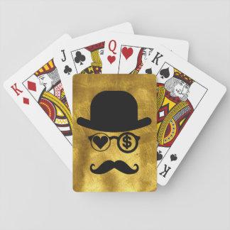 Amo naipes del póker del dinero