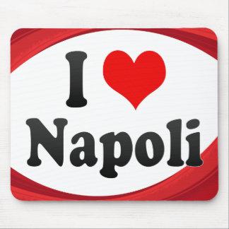 Amo Napoli, Italia Alfombrillas De Ratón