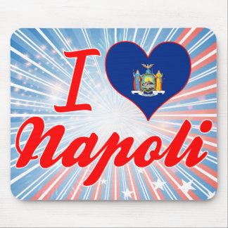 Amo Napoli, Nueva York Mouse Pad