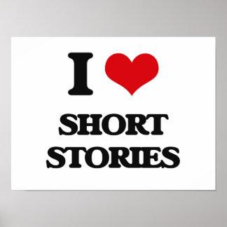 Amo narraciones breves póster