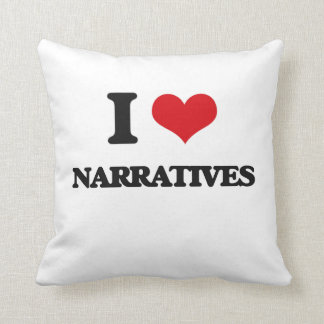 Amo narrativas cojín