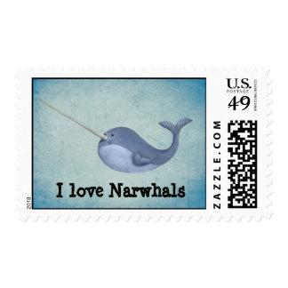 Amo Narwhals Sellos