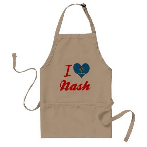 Amo Nash, Oklahoma Delantal