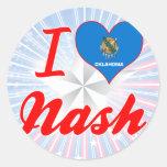 Amo Nash, Oklahoma Etiqueta Redonda