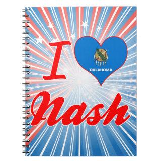 Amo Nash, Oklahoma Libro De Apuntes Con Espiral