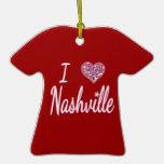 Amo Nashville Adorno Para Reyes