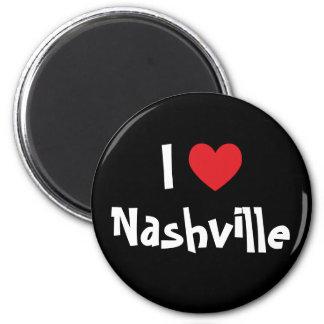 Amo Nashville Imán Redondo 5 Cm