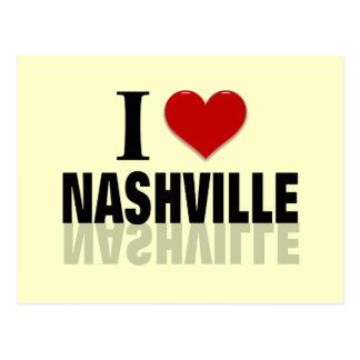 Amo Nashville Tarjetas Postales