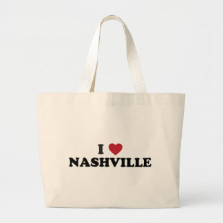 Amo Nashville Tennessee Bolsas Lienzo