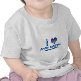 Amo Nassau del este Nueva York Camiseta