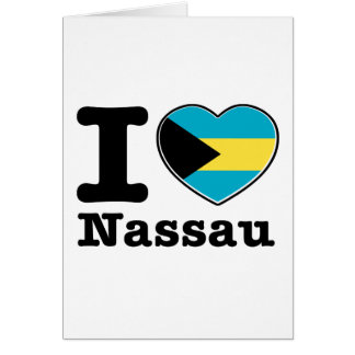 Amo Nassau Tarjeta De Felicitación
