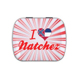 Amo Natchez, Mississippi Latas De Dulces