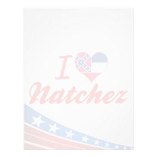 Amo Natchez, Mississippi Membrete