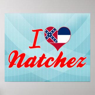 Amo Natchez, Mississippi Poster