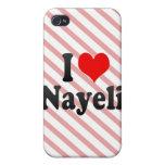 Amo Nayeli iPhone 4 Funda