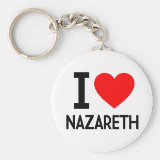 Amo Nazaret Llaveros Personalizados