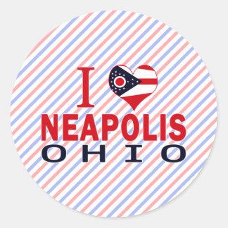 Amo Neapolis Ohio Etiqueta