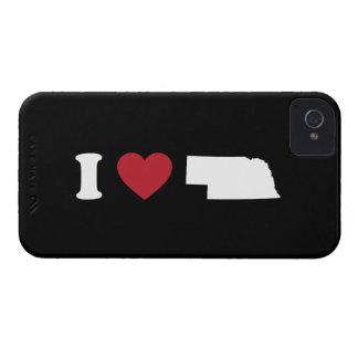 Amo Nebraska Case-Mate iPhone 4 Carcasas