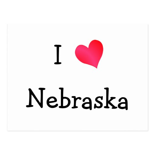Amo Nebraska Postales