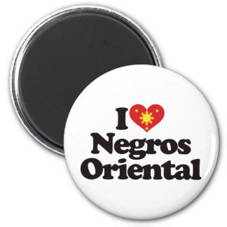 Amo Negros Oriental Imán Redondo 5 Cm