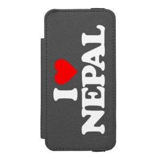 AMO NEPAL FUNDA BILLETERA PARA iPhone 5 WATSON