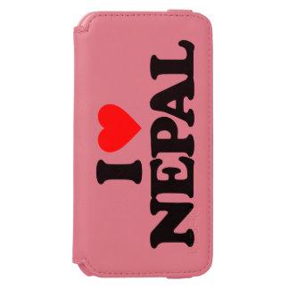 AMO NEPAL FUNDA BILLETERA PARA iPhone 6 WATSON