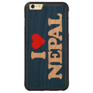 AMO NEPAL FUNDA DE CEREZO BUMPER CARVED® PARA iPhone 6 PLUS