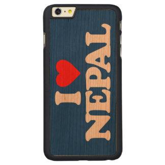 AMO NEPAL FUNDA DE CEREZO CARVED® PARA iPhone 6 PLUS