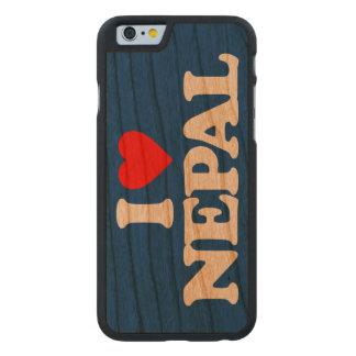 AMO NEPAL FUNDA DE iPhone 6 CARVED® DE CEREZO