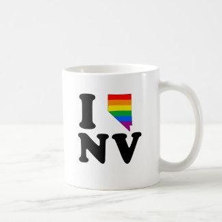 AMO NEVADA GAY TAZAS DE CAFÉ