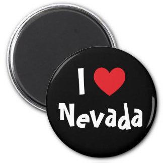 Amo Nevada Imán Redondo 5 Cm