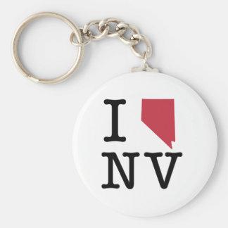 Amo Nevada Llavero Redondo Tipo Pin