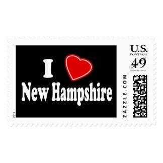 Amo New Hampshire Sello